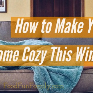 How to Make Your Home Cozy This Winter #CORTatHome