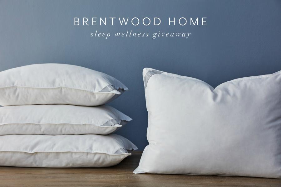Brentwood Home Sleep Wellness Giveaway Pillow Bundle