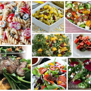 Super Salad Recipes – Delicious Dishes Recipe Party #69