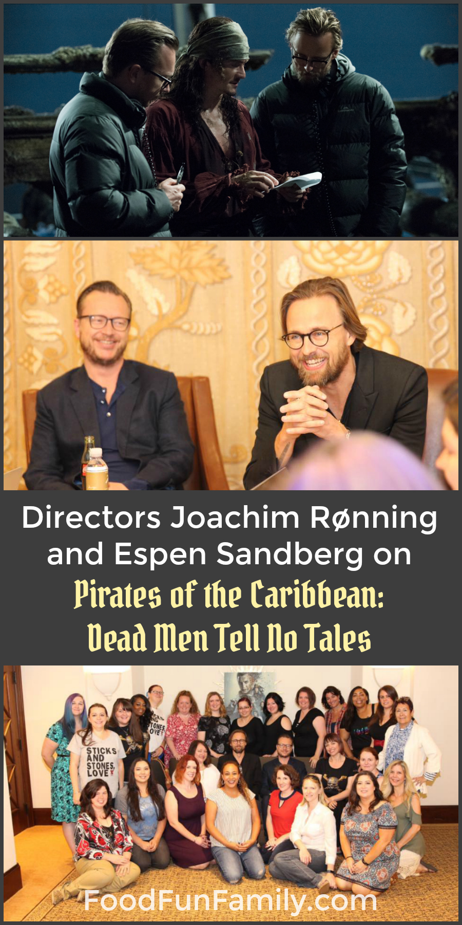Directors Joachim Rønning and Espen Sandberg Talk About Working on Pirates of the Caribbean: Dead Men Tell No Tales