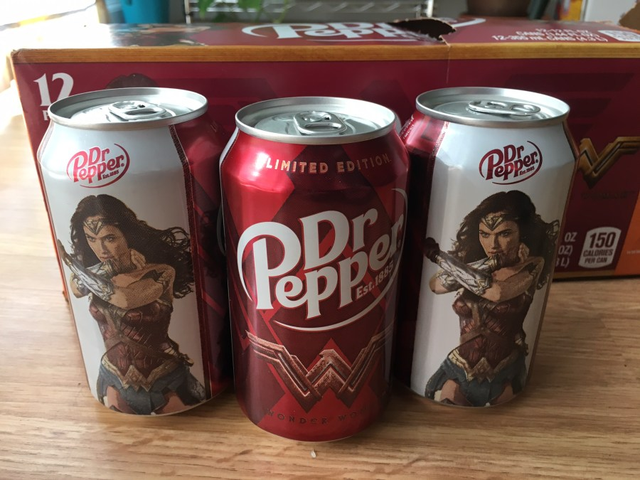 Wonder Woman and Dr Pepper Want to See You in Theaters