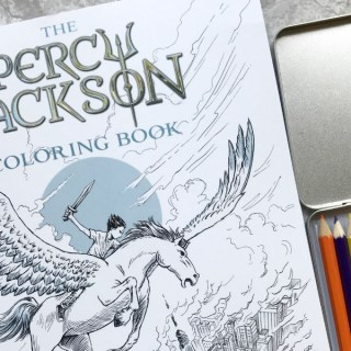 The Percy Jackson Coloring Book #PJColoringBook