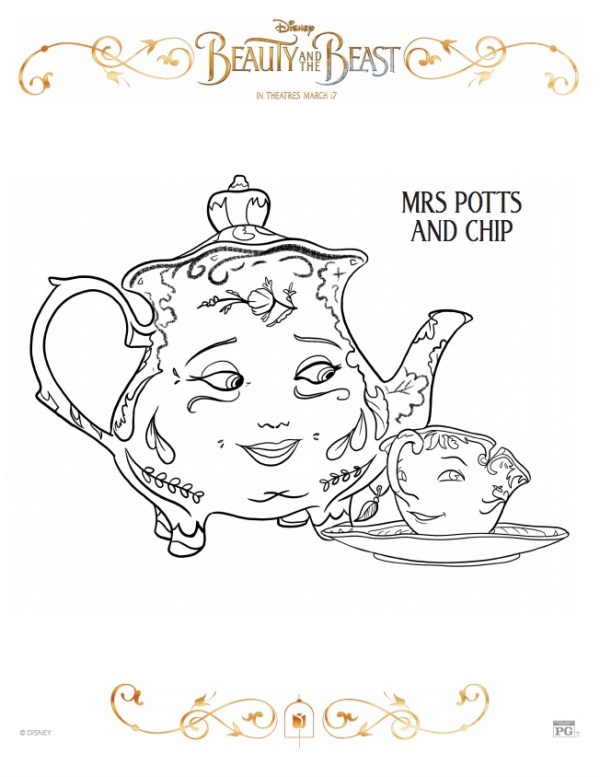 Mrs Potts and Chip