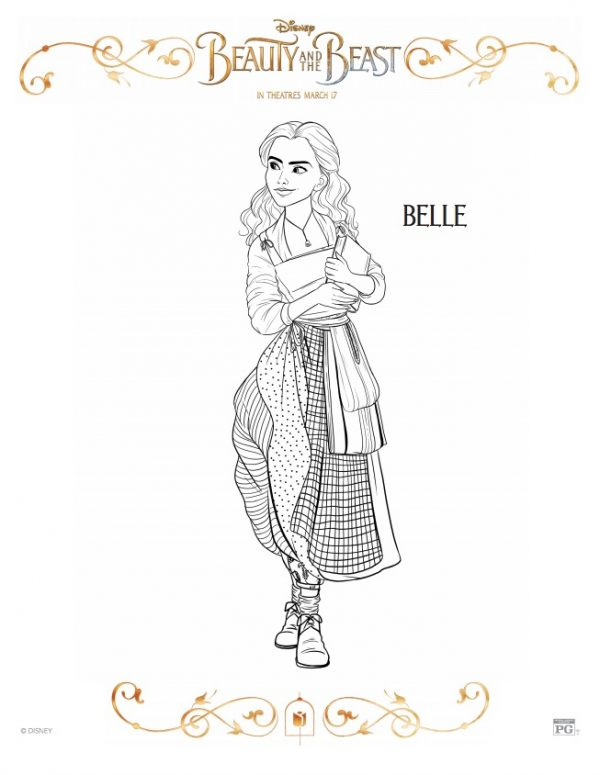 belle and book