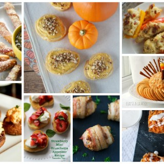 Delicious Thanksgiving appetizers - a delicious dishes recipe party collection