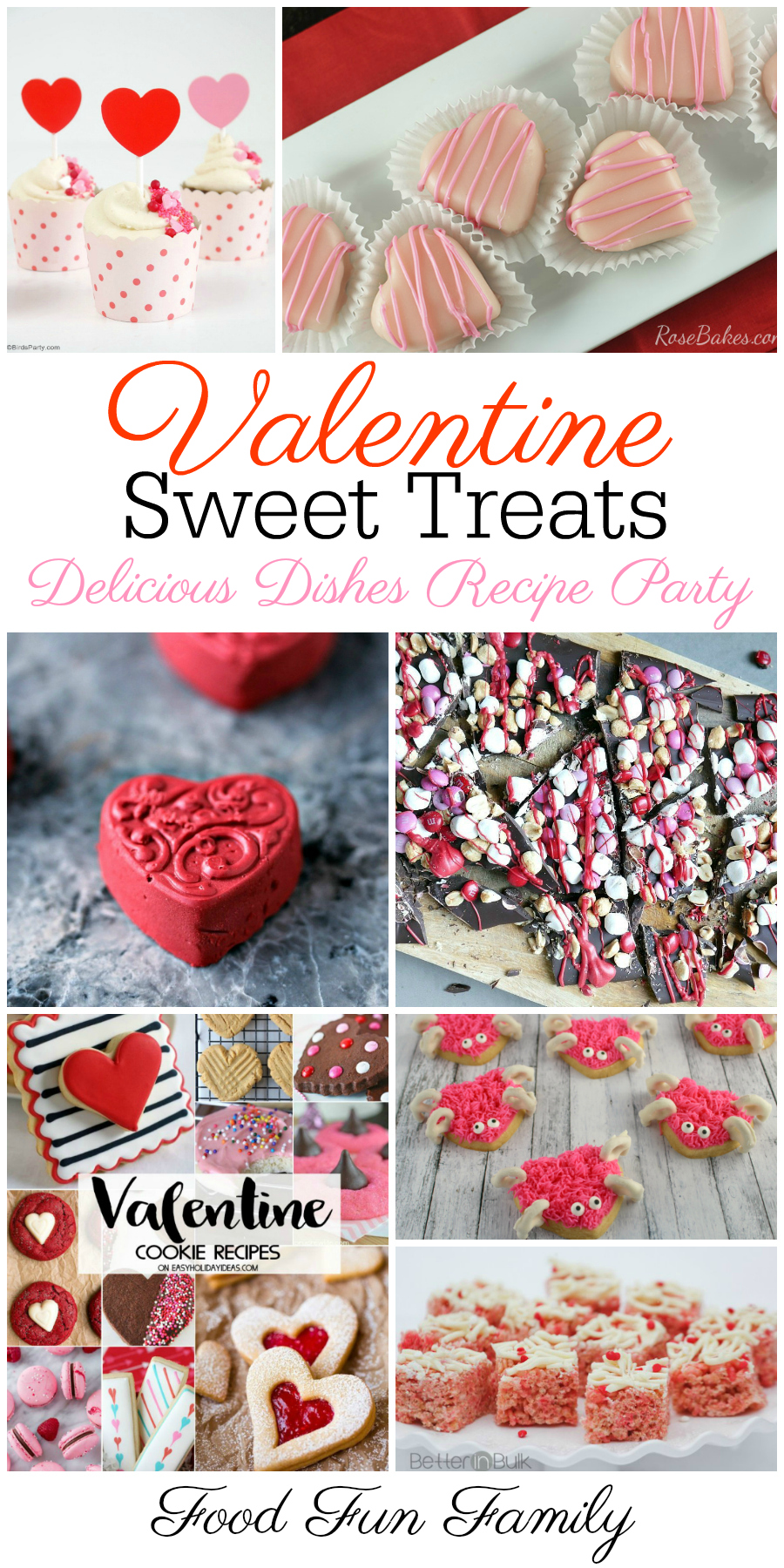 Valentine's Day sweet treats - a Delicious Dishes Recipe Party collection