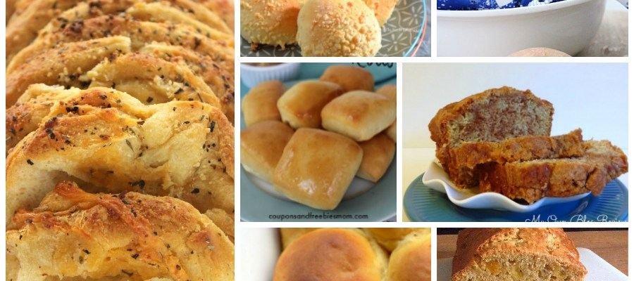 Homemade Bread Recipes – Delicious Dishes Recipe Party #105