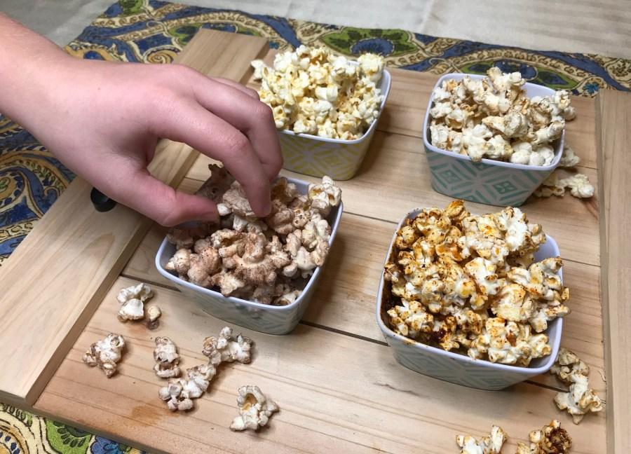 Movie Marathon Flavored Popcorn