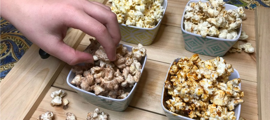 Movie Marathon Flavored Popcorn