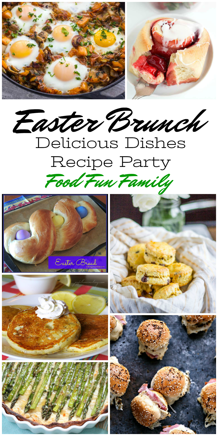 Brunch Ideas For Easter: Delicious Dishes Recipe Party #108