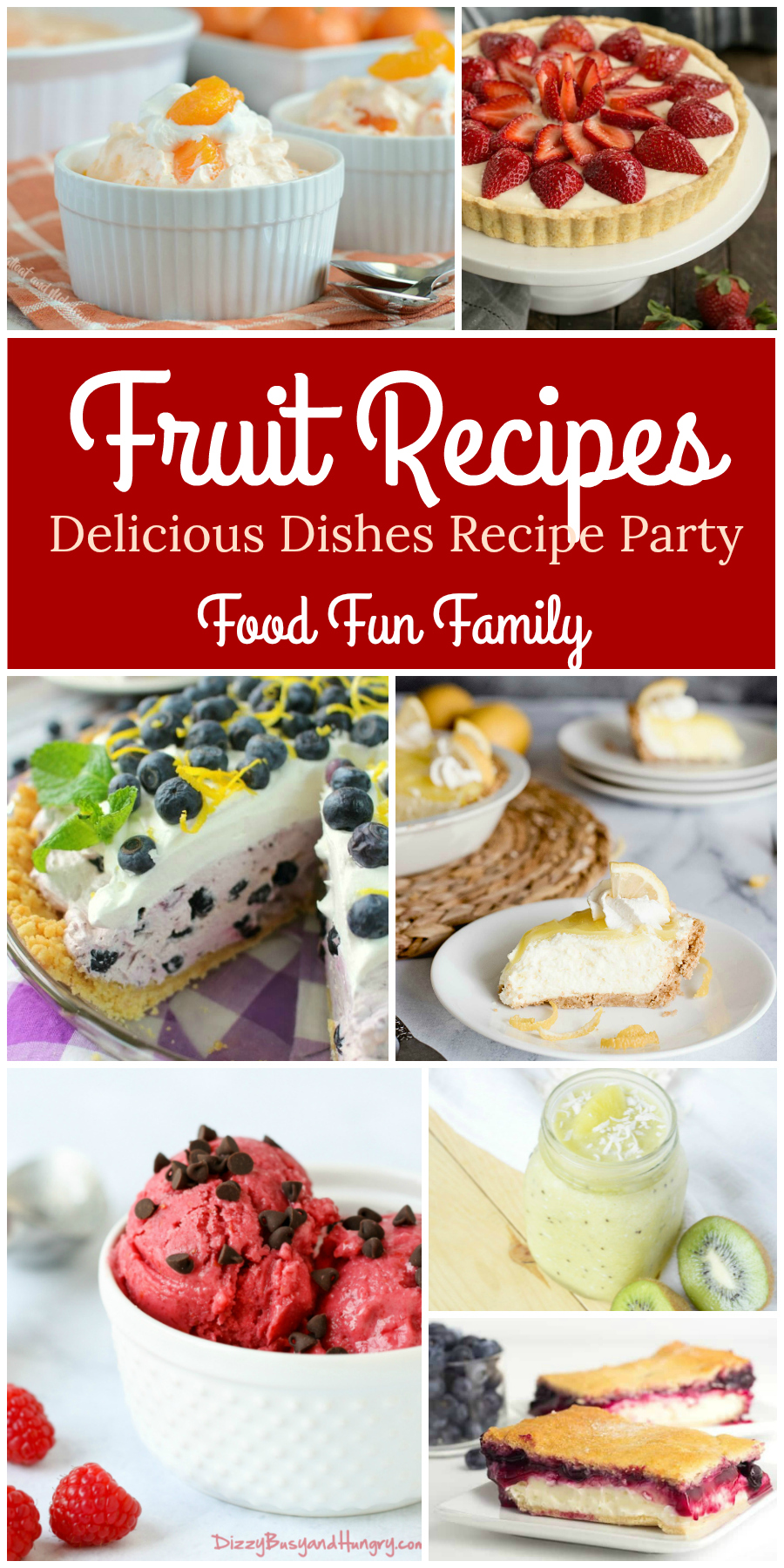 Tasty fruit recipes - a Delicious Dishes Recipe Party from Food Fun Family