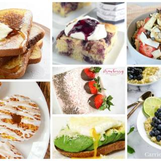 Mother's Day Breakfast in Bed Recipe Round Up - Delicious Dishes Recipe Party with Food Fun Family
