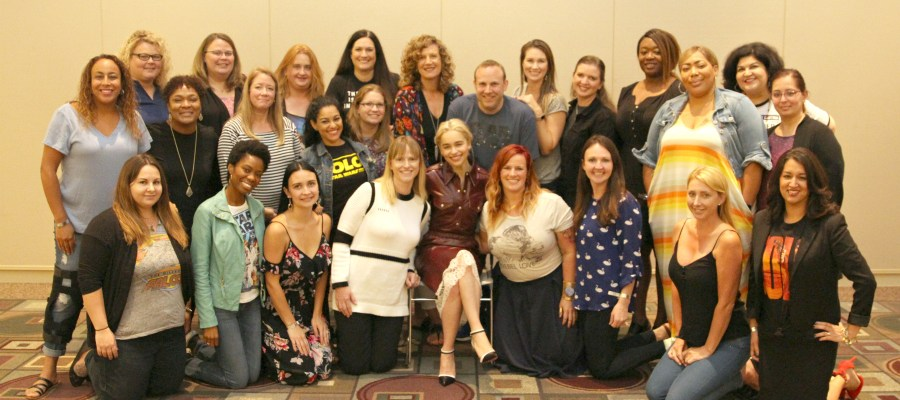 Emilia Clarke: An Exclusive Interview with Qi'ra from SOLO: A STAR WARS STORY #HanSoloEvent