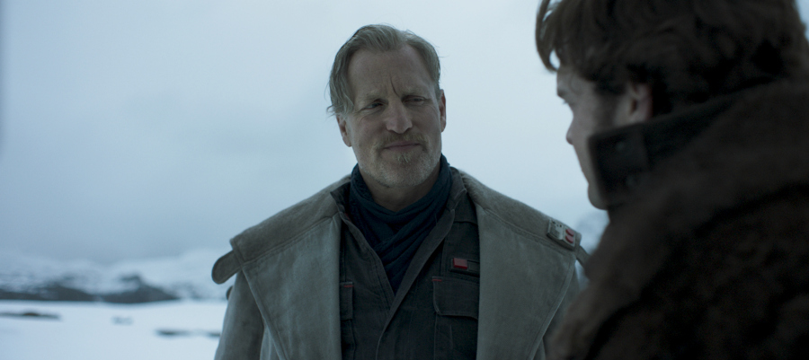 Woody Harrelson is Beckett in SOLO: A STAR WARS STORY.
