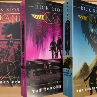 Summer of Magic & Mazes: Rick Riordan Book Giveaway