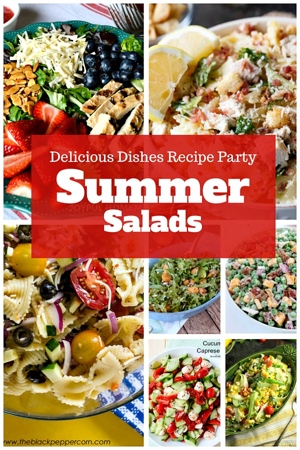 Summer Salad Recipes - a Delicious Dishes Recipe Party collection from Food Fun Family