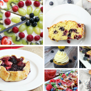 Summer blueberry recipes - a Delicious Dishes Recipe Party collection