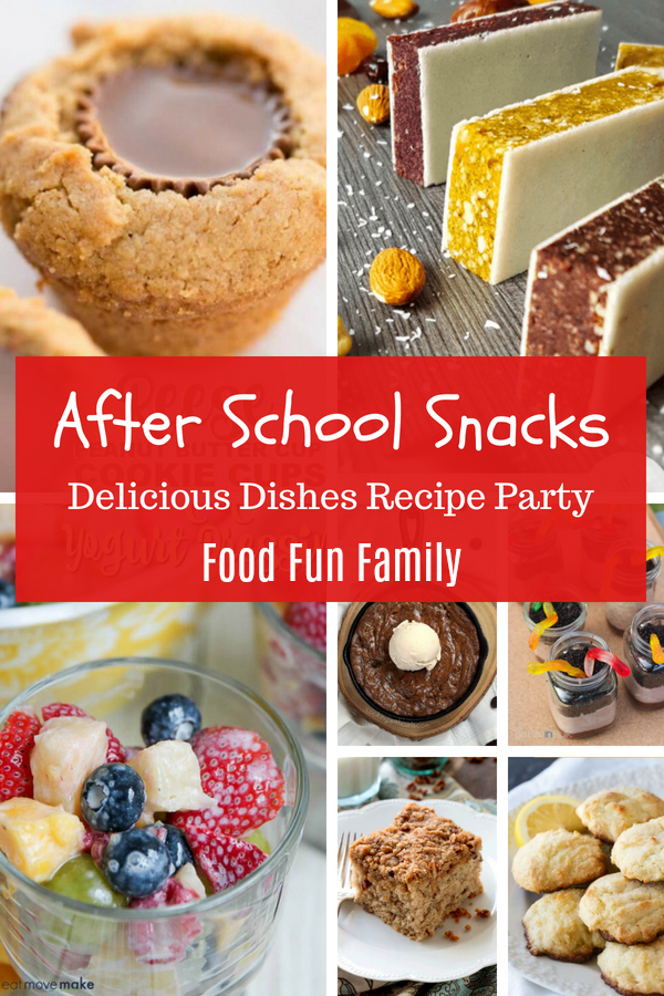 After School Snacks - Delicious Dishes Recipe Party with Food Fun Family