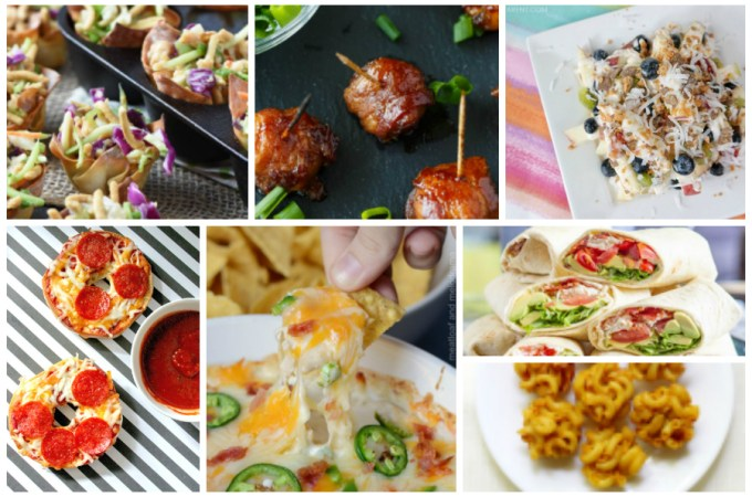 Favorite Tailgating Recipes - a Delicious Dishes Recipe Party collection from Food Fun Family