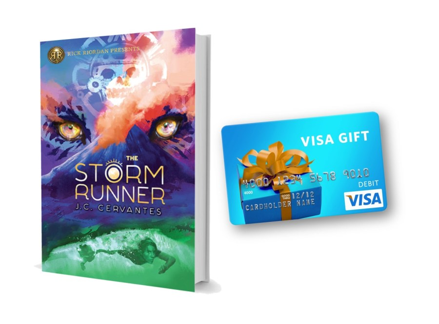 The Storm Runner Visa Giveaway