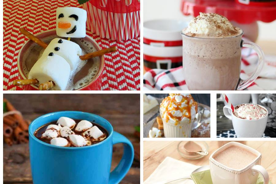 Homemade hot chocolate recipes - a Delicious Dishes Recipe Party post with Food Fun Family