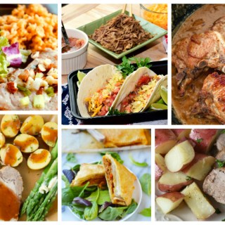 Pork Recipes - a Delicious Dishes Recipe Party collection with Food Fun Family