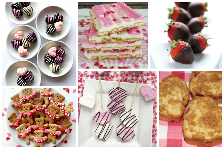 Valentine's Day Treats - a Delicious Dishes Recipe Party with Food Fun Family