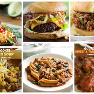 Ground beef recipes for family dinner - a Delicious Dishes Recipe Party with Food Fun Family