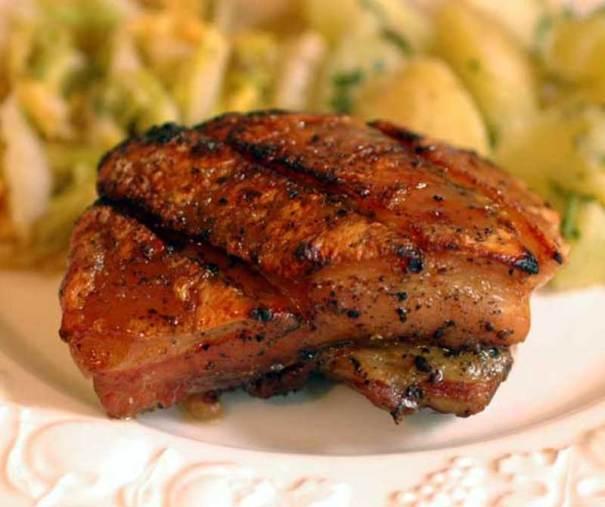Emeril's Citrus Glazed Pork Belly