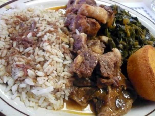 Southern Pork Neck bones And Rice