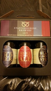 My Staffordshire brewery takeaway. Love the packaging