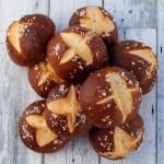 German Pretzel Buns recipe