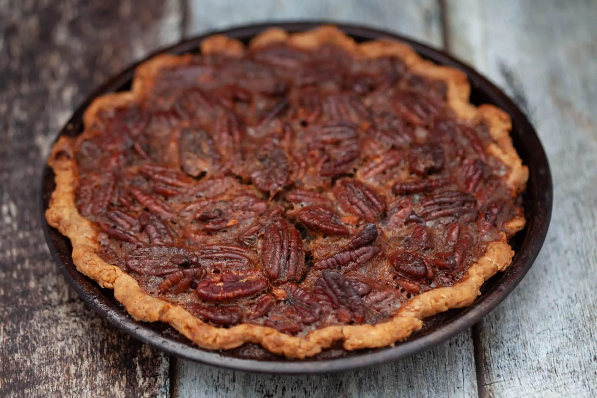 pecan pie opskrift