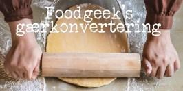 Foodgeek's gærkonvertering
