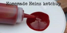Homemade Heinz-style ketchup
