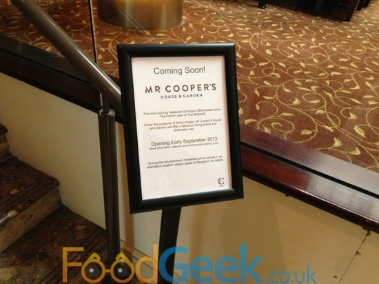 Mr Coopers - Coming Soon