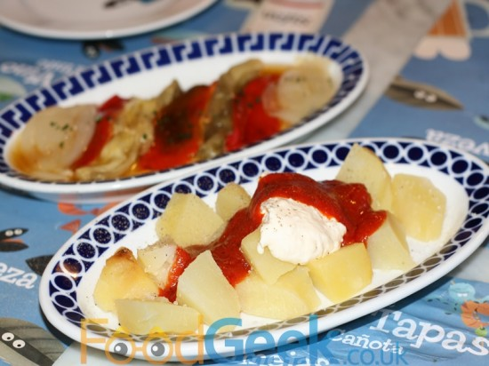 Galician Spicy Potatoes