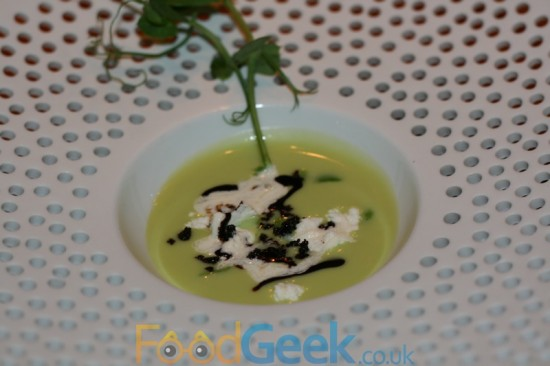 Chilled Broad Bean Soup