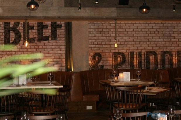Inside Beef & Pudding