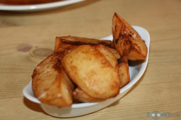 Truffle and Parmesan Chips