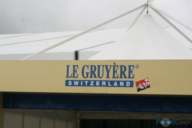 The Worlds Biggest Cheese Marquee
