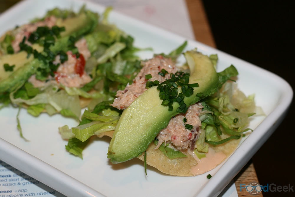 Crab & Avocado Tostadas