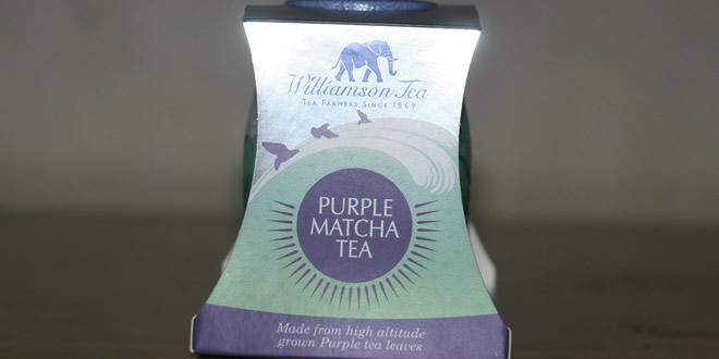 Williamson Tea's 'Purple Matcha' Review