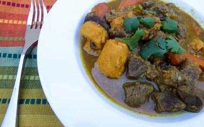Beef Stew with Garam Masala
