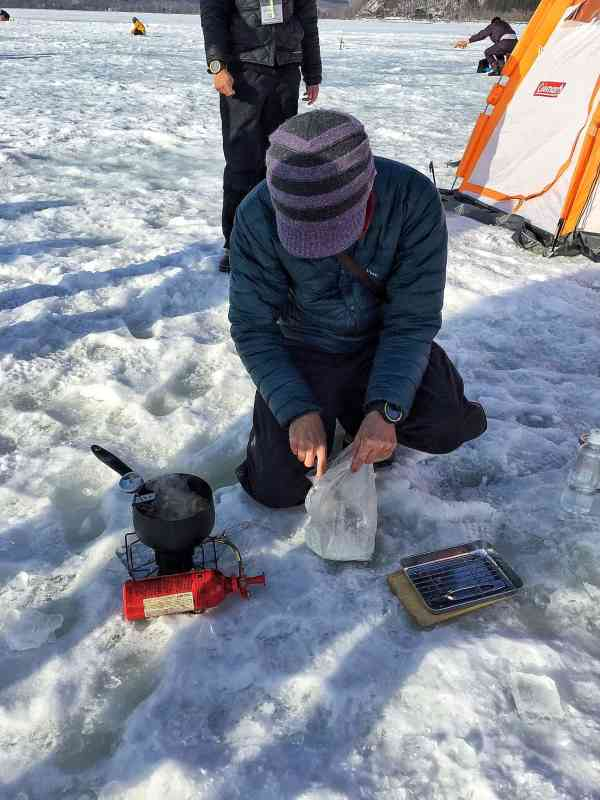 Foodicles Lake Abashiri Ice Fishing 7