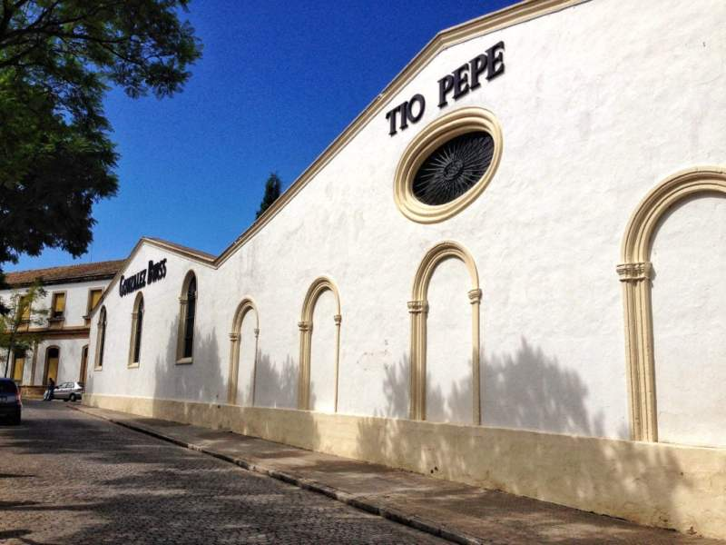 Day trip to Jerez to drink at Tio Pepe