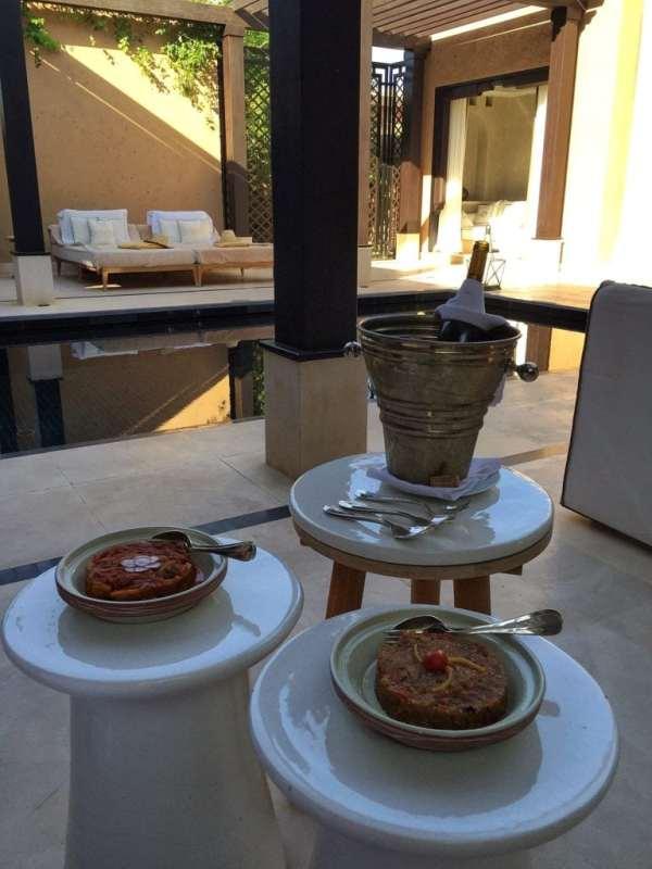 Foodicles Mandarin Oriental Marrakech In Villa Dining 5