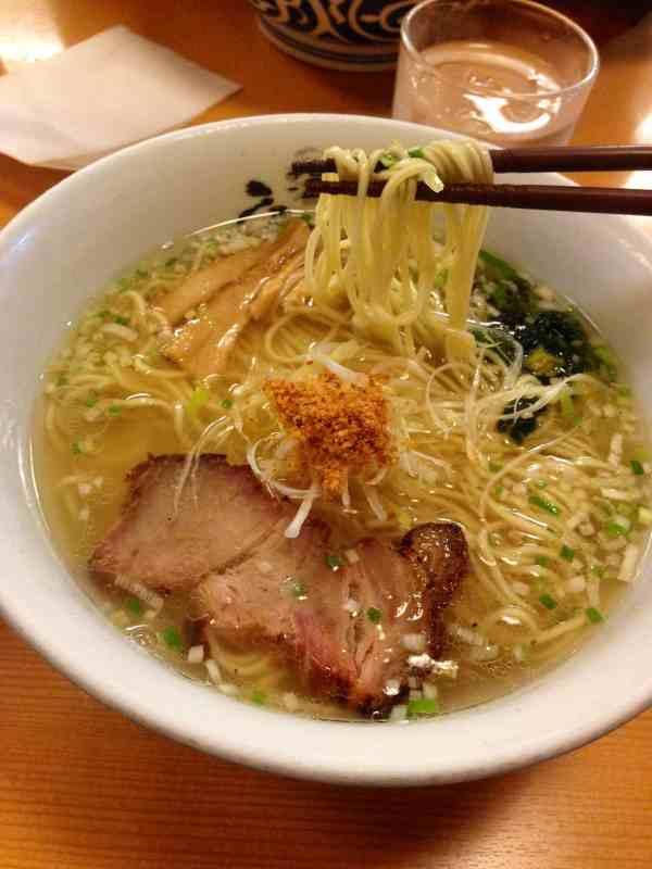 Foodicles Tokyo Station Ramen Street Hirugao Shio