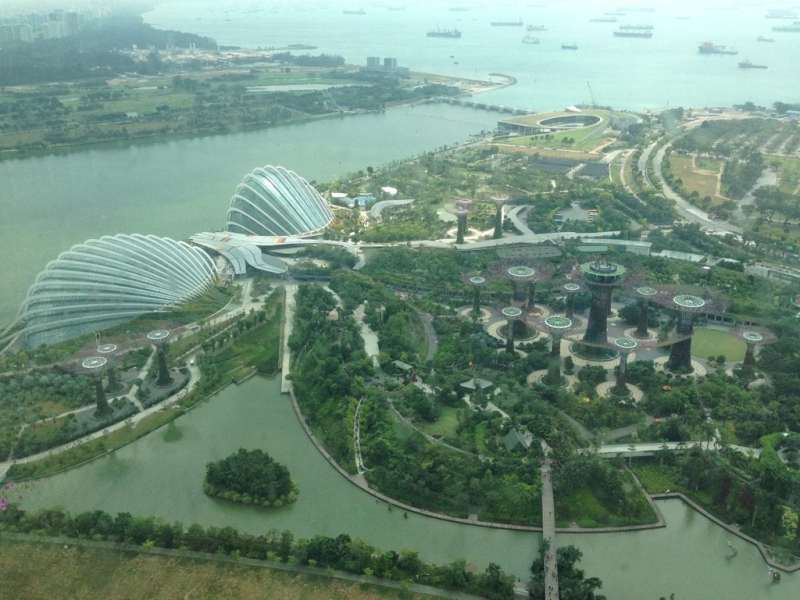 foodicles marina bay sands view