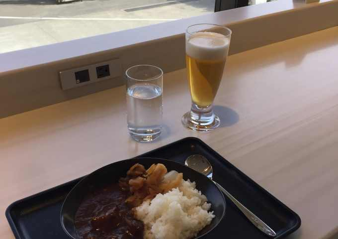 Japan Airlines Business Class Sakura Lounge